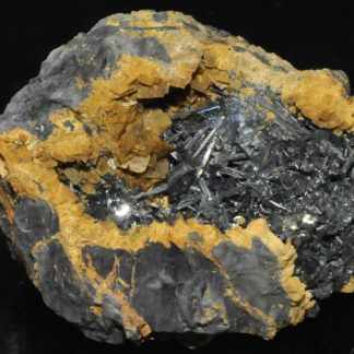 Zinkenite and chalcostibite from Saint-Pons (Alpes-de-Haute-Provence, France)