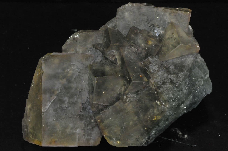 Fluorite from the Avellan mine in the Var, France