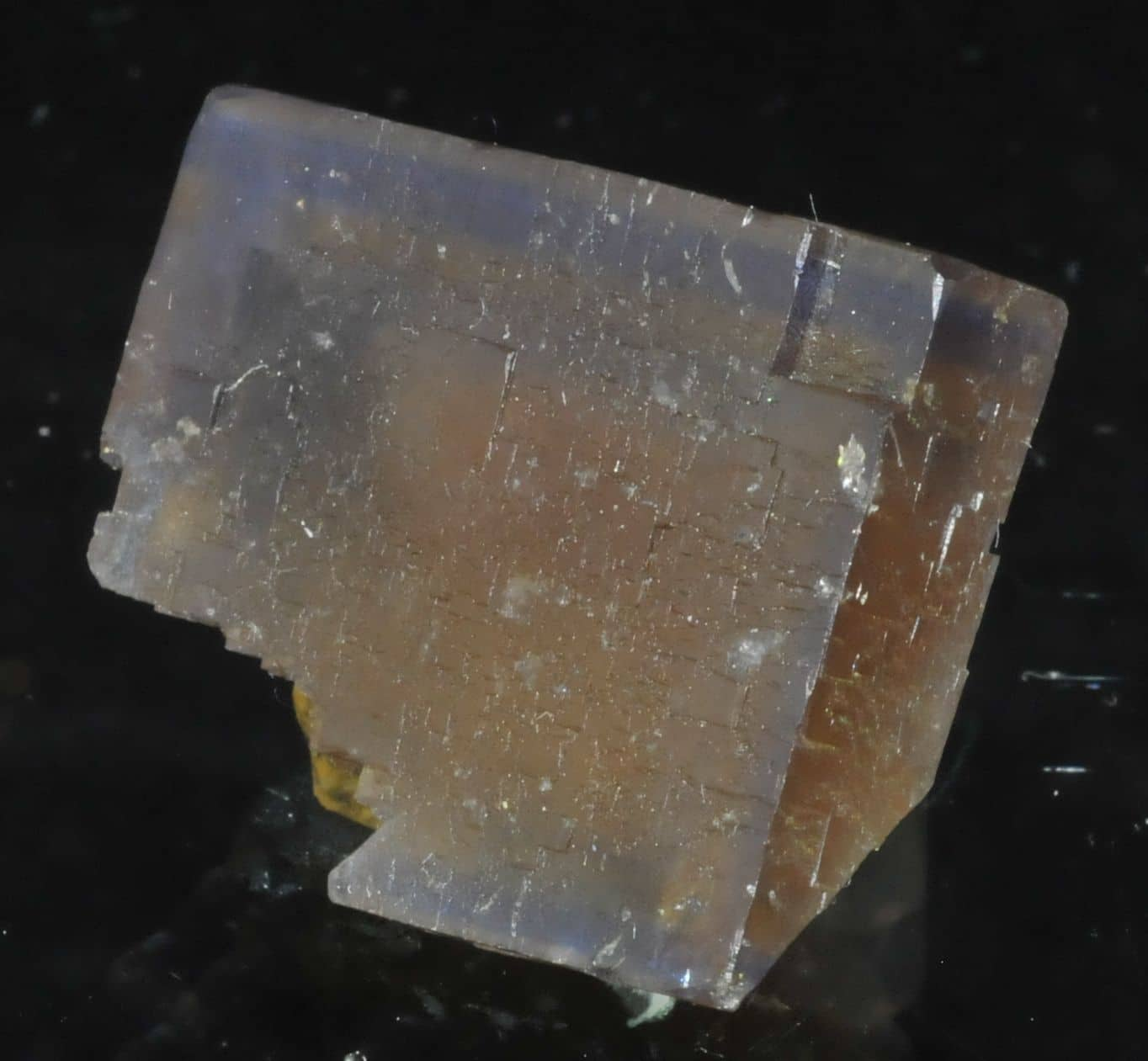 Fluorite from the Valzergues mine (Aveyron, France)