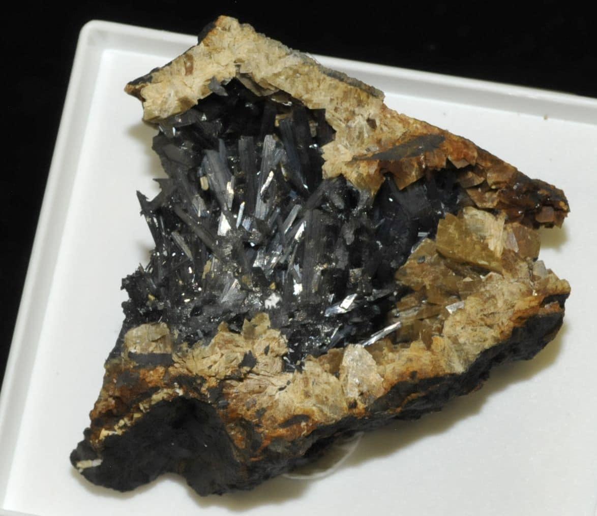 Zinkenite and tetrahedrite from Saint-Pons (Alpes-de-Haute-Provence, France)