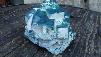 Nettoyage des cristaux de fluorine de Madagascar (avant)