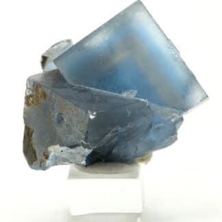 Fluorine bleue de la mine de Mont-Roc (Tarn)