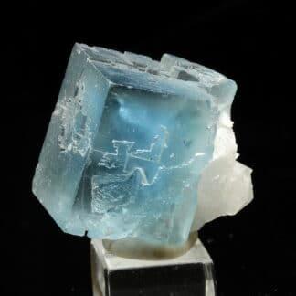 Fluorine bleue de la mine du Burc dans le Tarn